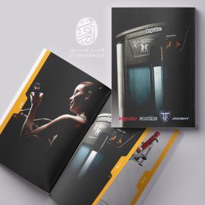 طراحی کاتالوگ تجهیزات ورزشی