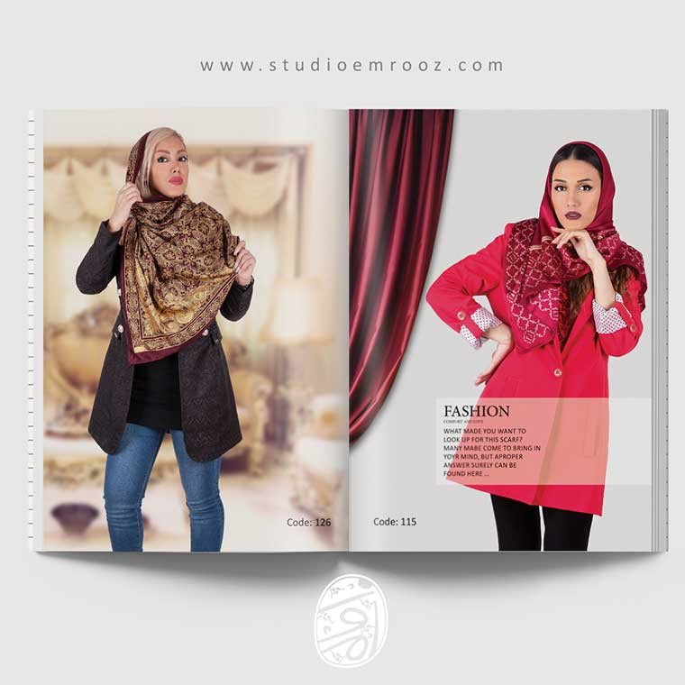 طراحی کاتالوگ پوشاک
