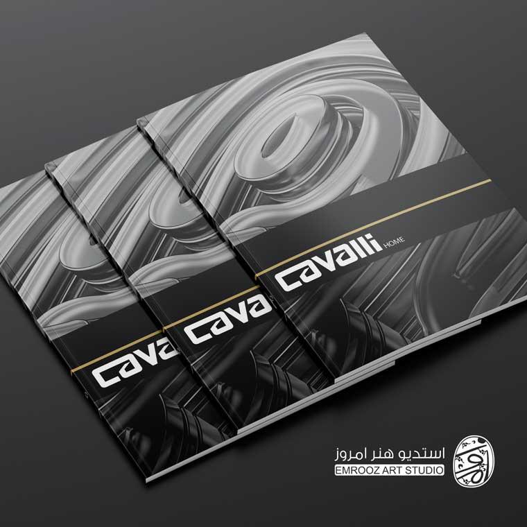 جلد کاتالوگ شرکت کاوالی هوم