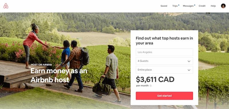 نمونه هویت بصری برند Airbnb